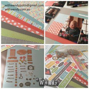 CTMH product ZOE paper and complements